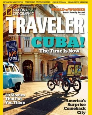 Revista National Geographic Traveler premia a destino Cuba.